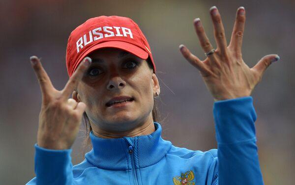 25? Come i passi di rincorsa di Elena Isinbayeva - Sputnik Italia