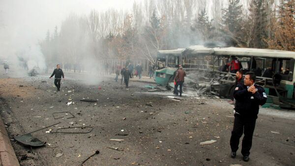 Attentato terroristico a Kayseri, Turchia - Sputnik Italia