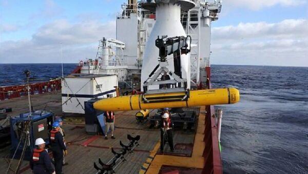 China's Navy seizes American underwater drone in South China Sea - Sputnik Italia