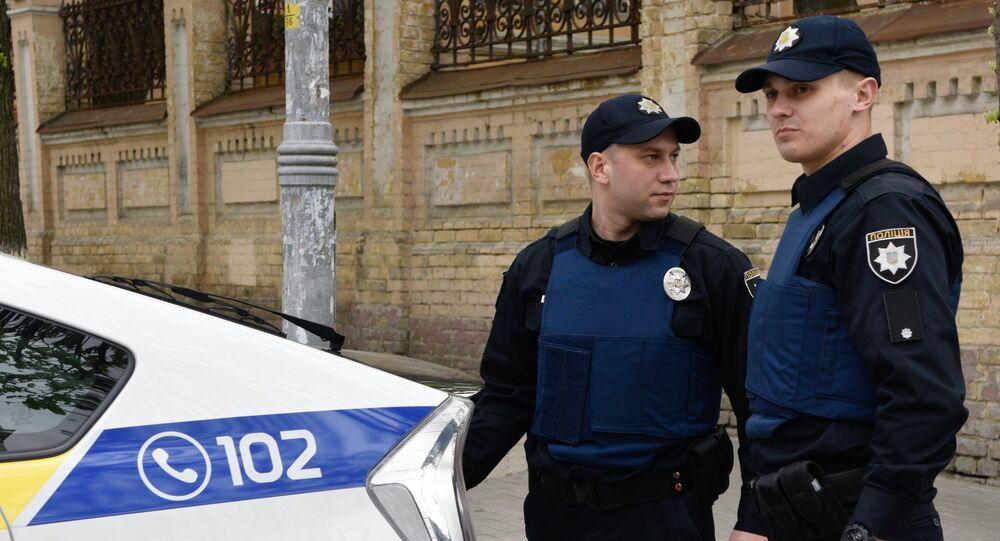 Poliziotti ucraini