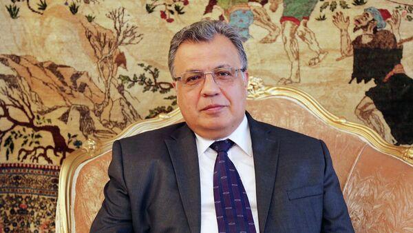 Andrey Karlov, l'ambasciatore russo in Turchia - Sputnik Italia