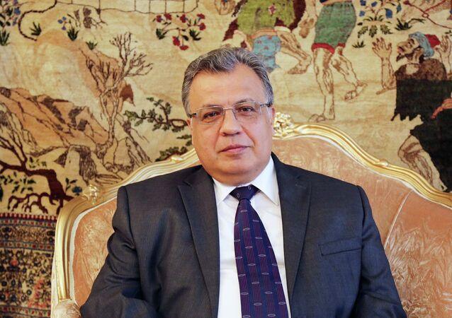 Andrey Karlov, l'ambasciatore russo in Turchia