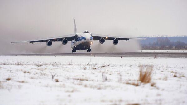 Antonov An-124 in dotazione alla Ruslan per i trasporti speciali - Sputnik Italia