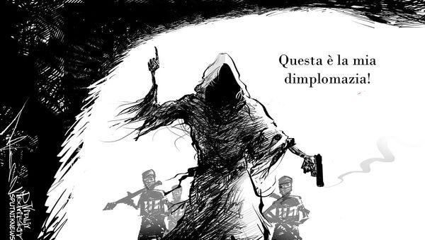 Vignetta, Il Prezzo Della Dimplomazia - Sputnik Italia