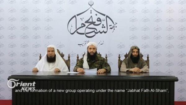 I leader dell'organizzazione terroristica Fateh al-Sham (foto d'archivio) - Sputnik Italia
