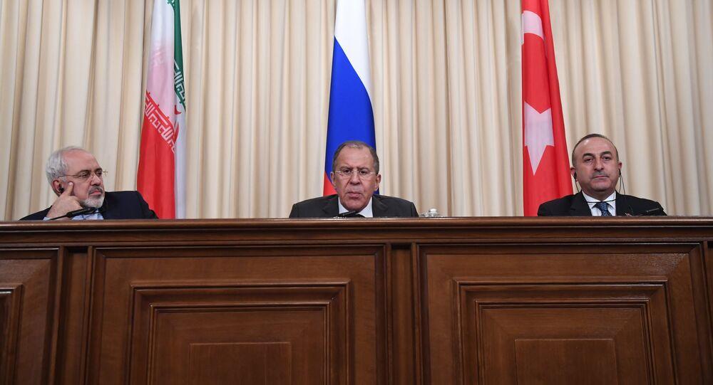 Ministri degli Esteri di Iran, Russia e Turchia a Mosca