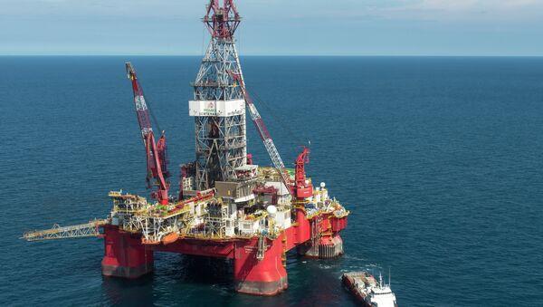 Trivella petrolifera nel Golfo del Messico - Sputnik Italia