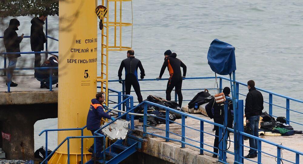 operazioni di salvataggio nel mar nero