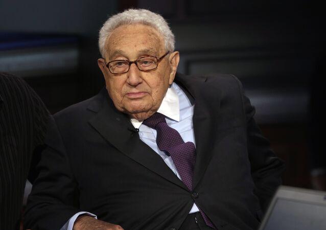 Ex segretario di Stato americano Henry Kissinger (foto d'archivio)
