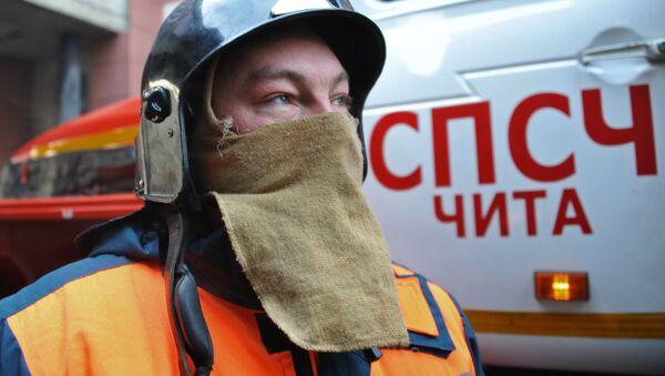 Membri della protezione civile russa - Sputnik Italia