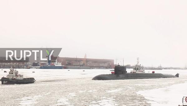 Il sottomarino nucleare Podmoskovye - Sputnik Italia
