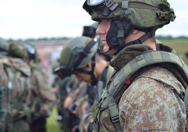 Uomini della Guardia Nazionale russa (foto d'archivio)