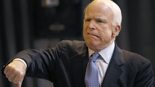 US Sen. John McCain - Sputnik Italia