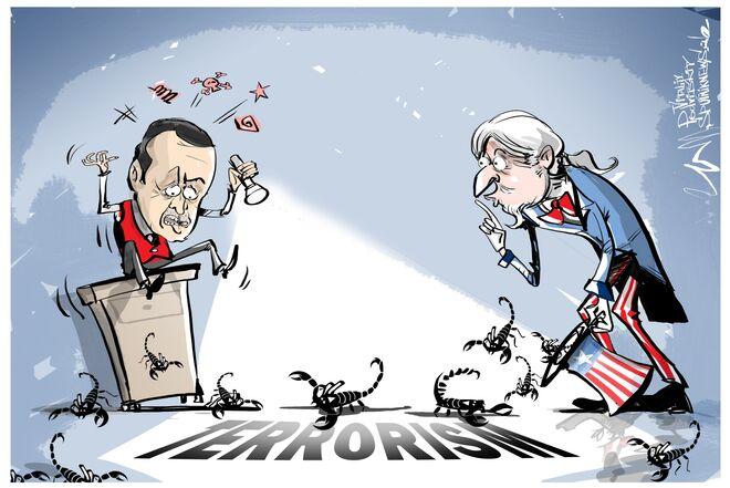 Erdogan accusa gli USA
