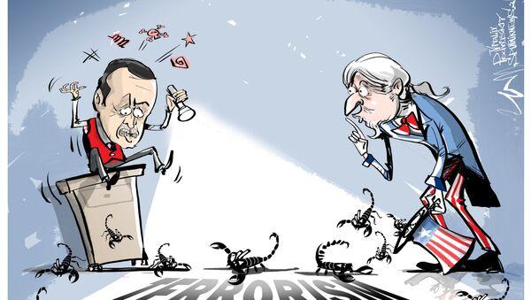 Erdogan accusa gli USA - Sputnik Italia