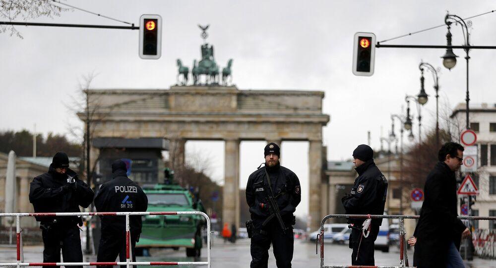 Polizia a Berlino