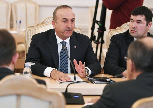 Ministro degli Esteri della Turchia Mevlut Cavusoglu
