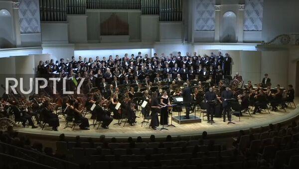 Orchestra del teatro Mariinsky ricorda le vittime dello schianto Tu-154 - Sputnik Italia