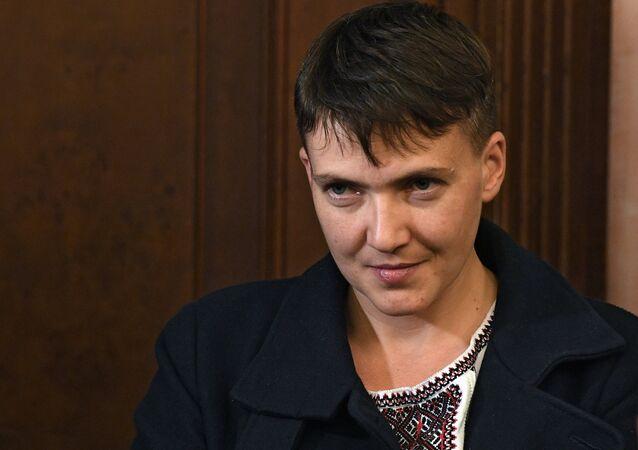 Deputata ucraina Nadia Savchenko