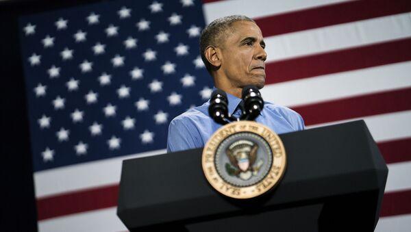 Президент США Барак Обама - Sputnik Italia