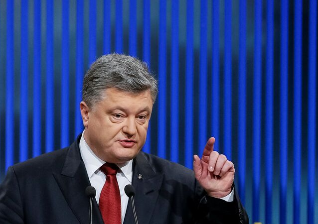 Il presidente ucraino Petro Poroshenko.