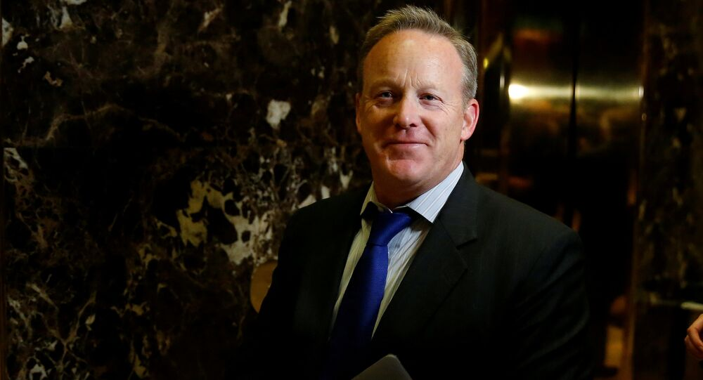 FILE PHOTO - Chief Strategist & Communications Director for the Republican National Committee Sean Spicer