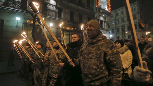 Nationalist March in Kiev - Sputnik Italia