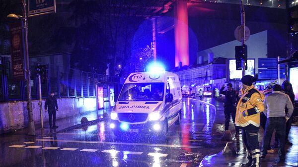 Ambulanza, Istanbul, Turchia - Sputnik Italia