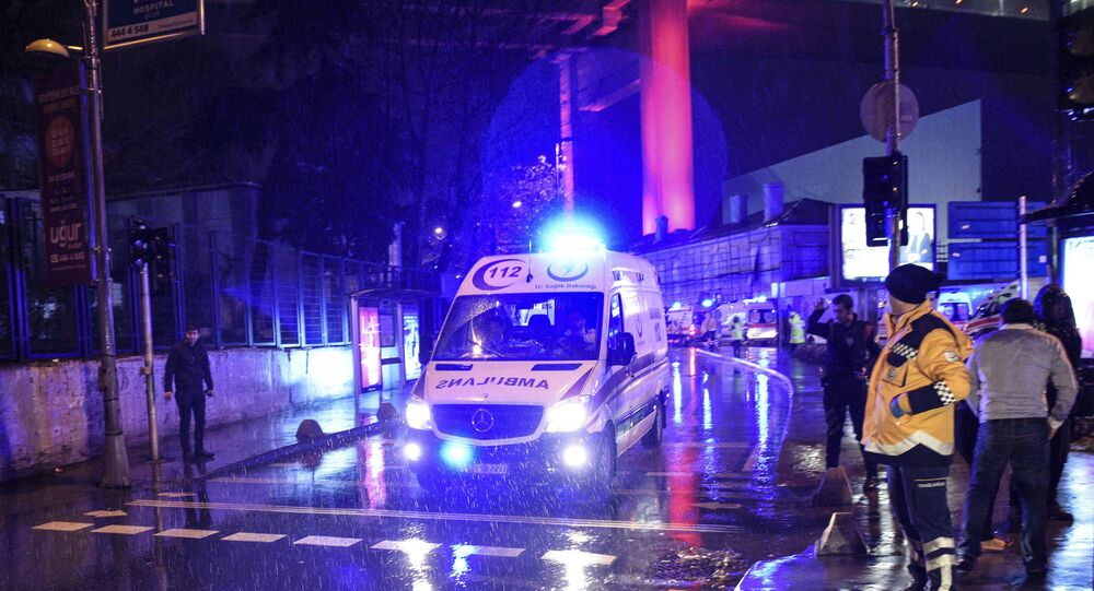 Ambulanza, Istanbul, Turchia