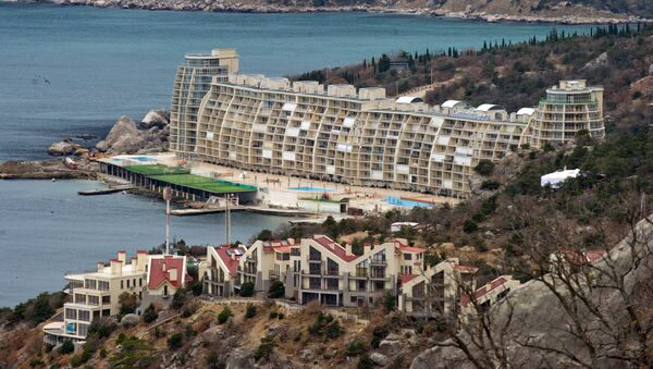 Centro termale e terapeutico in Crimea - Sputnik Italia