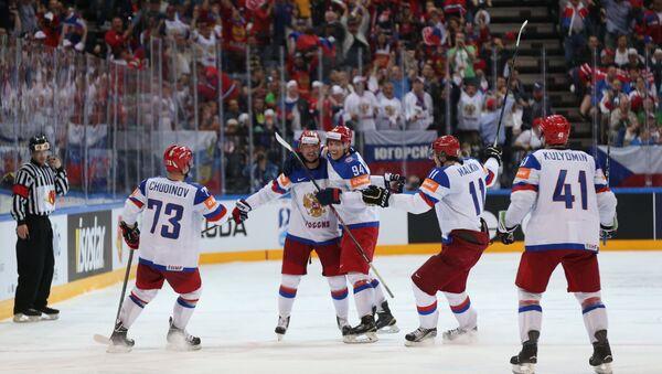Hockey. The World Cup - 2015. USA - Russia - Sputnik Italia