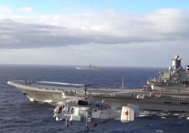 la Ammiraglio Kuznetsov