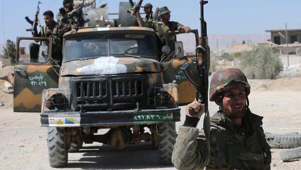 Soldati siriani nella provincia di Homs - Sputnik Italia