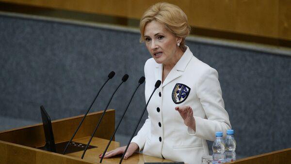 Irina Jarovaja, vice portavoce della Duma - Sputnik Italia