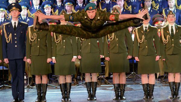 Il Coro Aleksandrov a Sochi. - Sputnik Italia