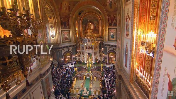 La messa di Natale a Mosca - Sputnik Italia