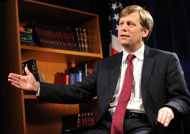 US Ambassador to Russia Michael McFaul