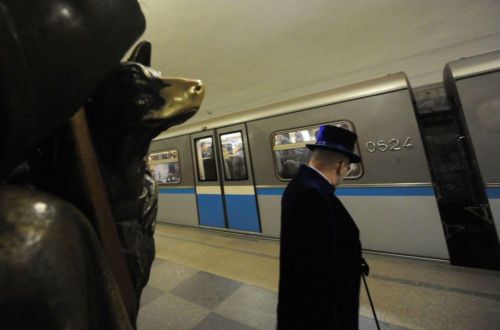 La stazione Ploshchad Revolyutsii.