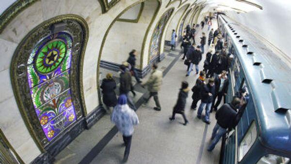 Mosca, la stazione della Metro Novoslobodskaya - Sputnik Italia