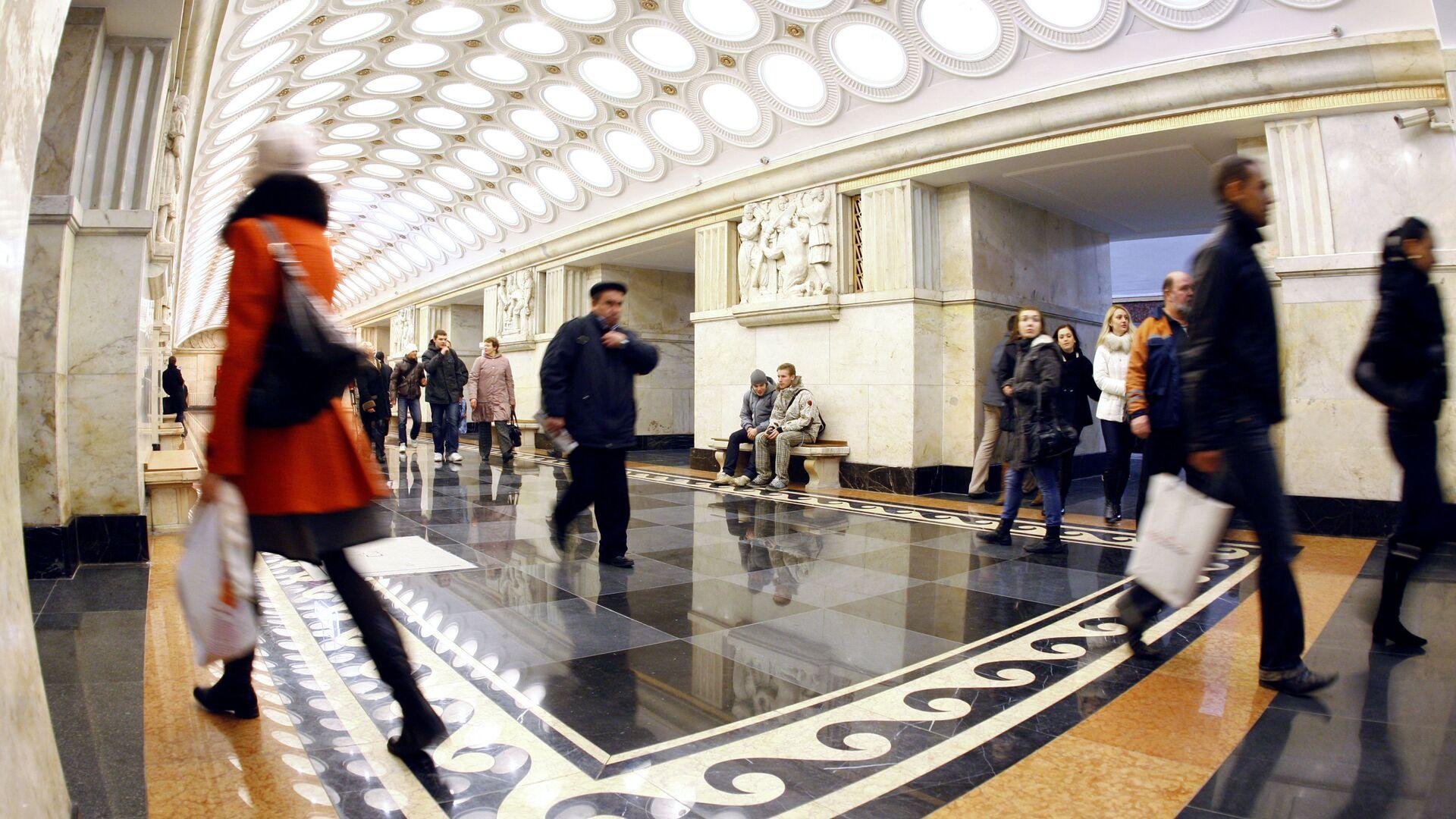 La stazione della metro di Mosca Elektrozavodskaya. - Sputnik Italia, 1920, 22.05.2021