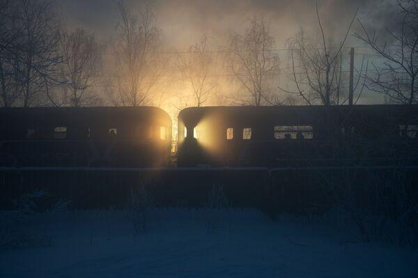 Un treno della metropolitana di Mosca. - 24°C - Sputnik Italia