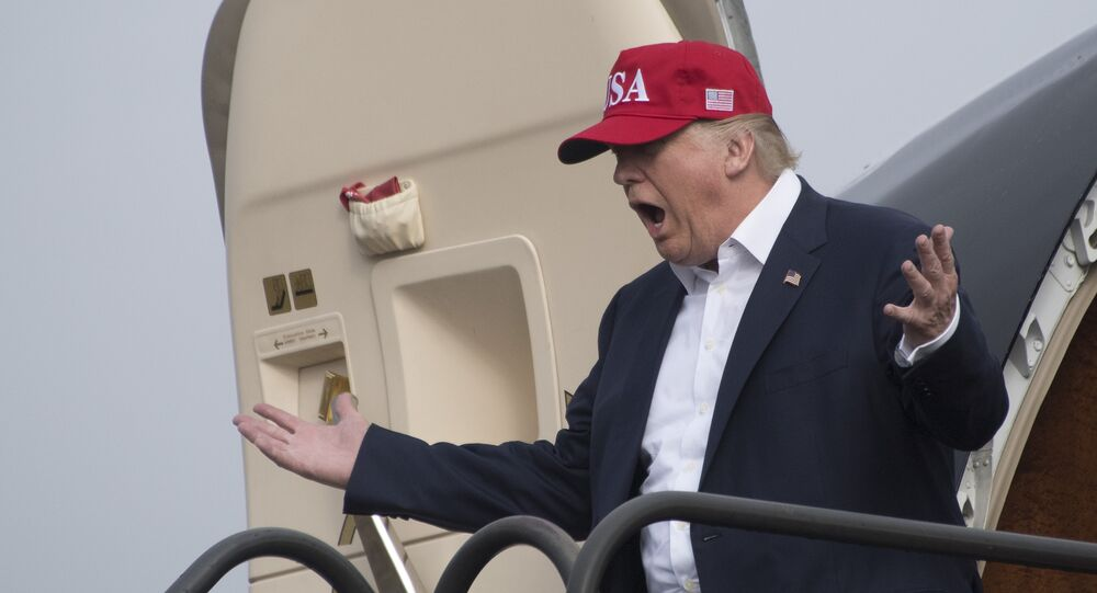 Presidente eletto americano Donald Trump