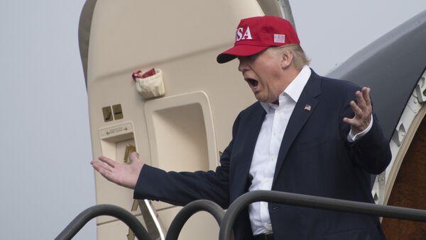 Presidente eletto americano Donald Trump - Sputnik Italia