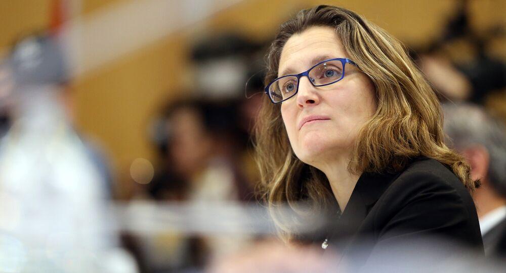 Chrystia Freeland, ministro degli Esteri del Canada