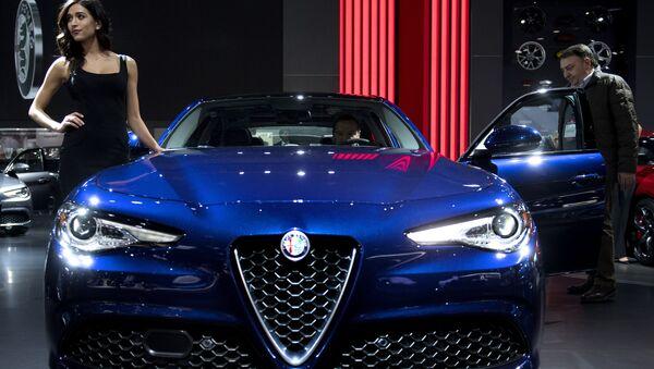 Alfa Romeo Giulia - Sputnik Italia