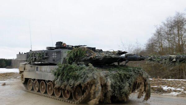 German army Leopard 2 - Sputnik Italia