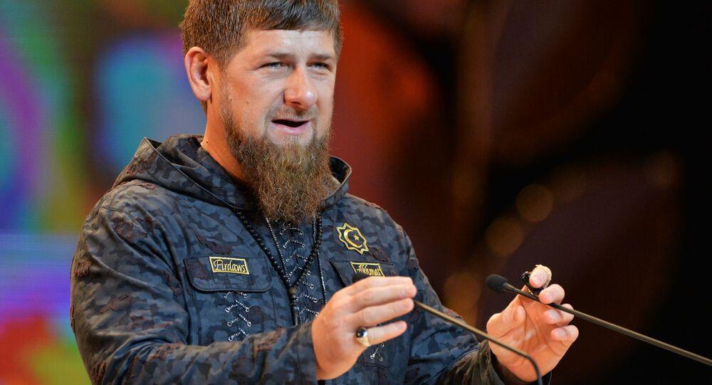 Presidente ceceno Ramzan Kadyrov
