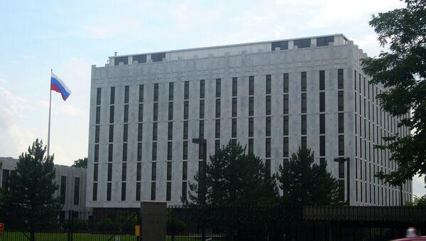 L'ambasciata russa a Washington, USA. - Sputnik Italia