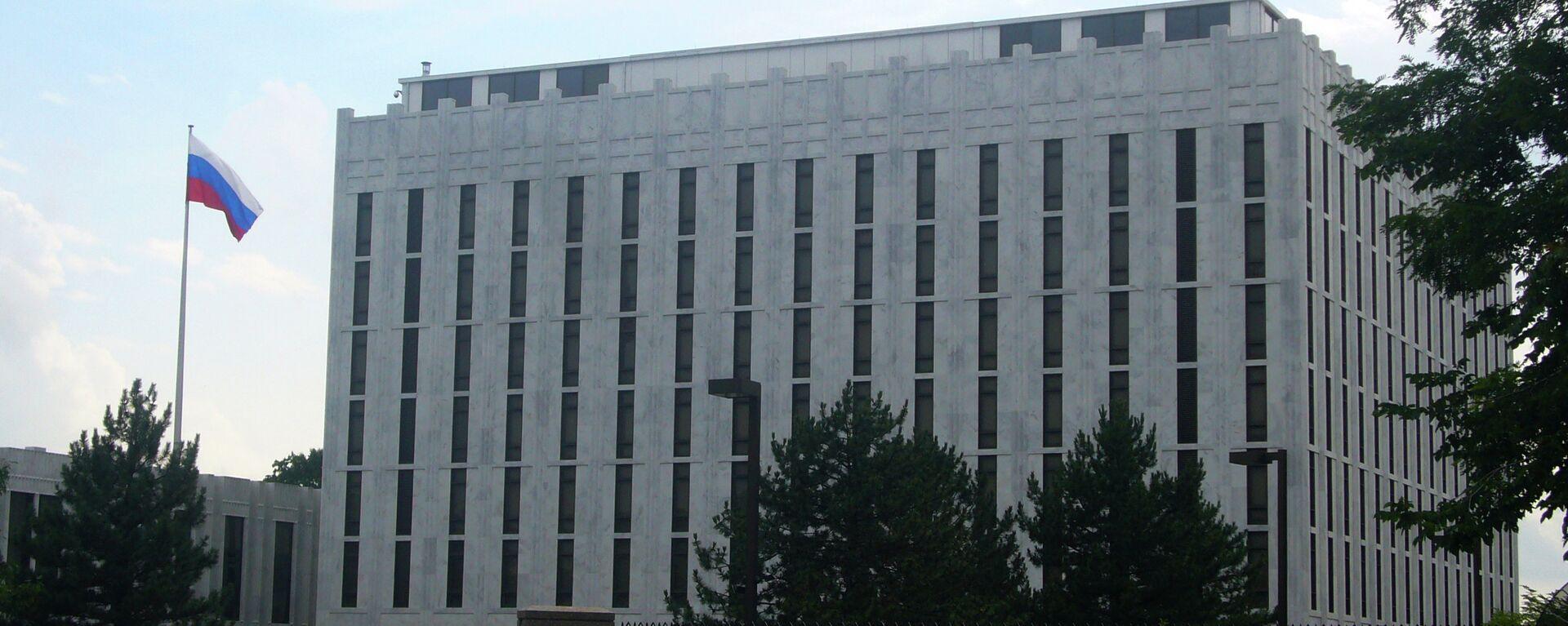 L'ambasciata russa a Washington, USA. - Sputnik Italia, 1920, 25.02.2020