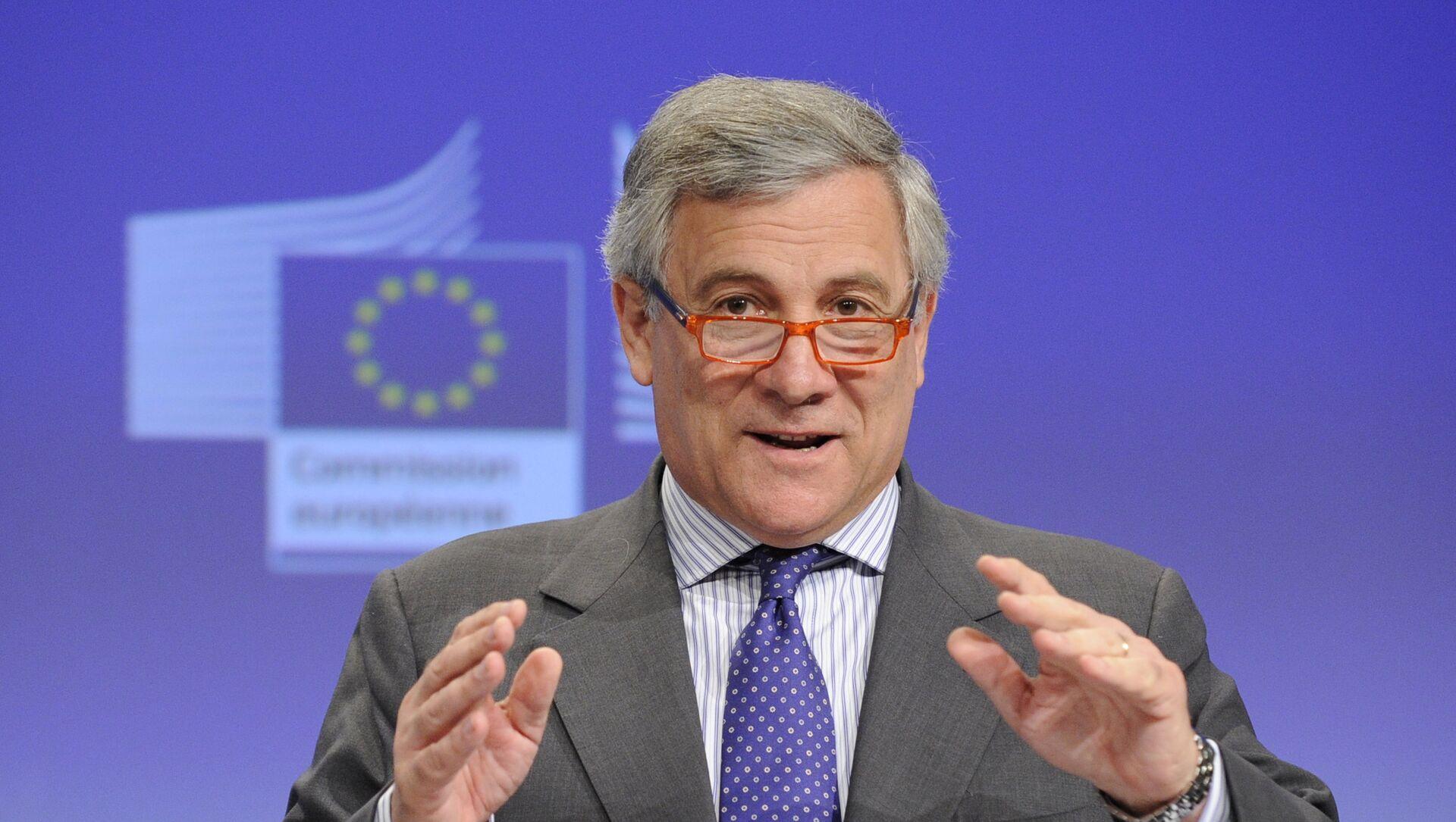 Antonio Tajani, presidente dell'Europarlamento - Sputnik Italia, 1920, 02.03.2021